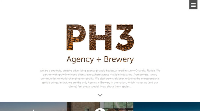 Go To PH3 Agency + Brewery