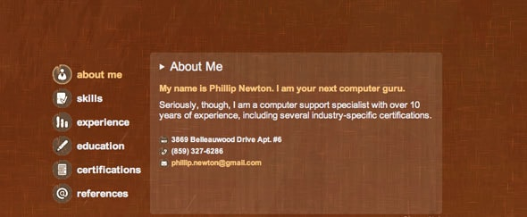 View Information about Phillip Newton