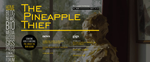 View Information about The Pineapple Thief