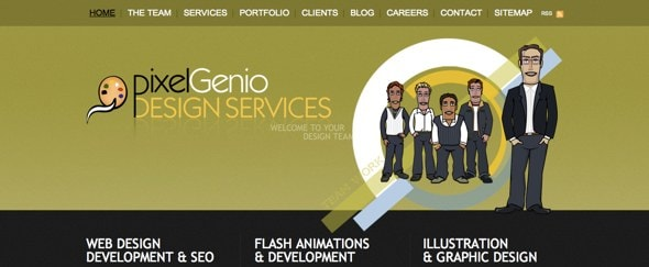 View Information about Pixel Genio
