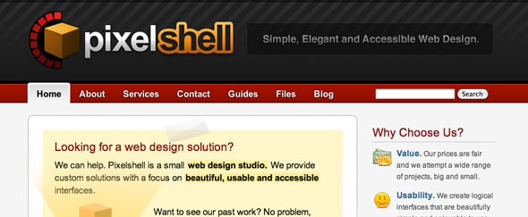 View Information about Pixelshell