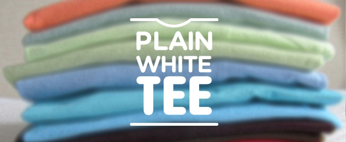 Go To Plain White Tee