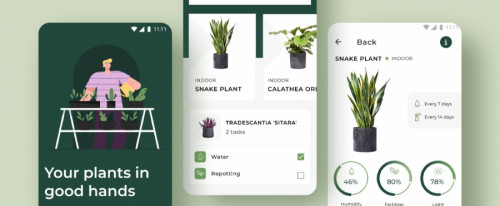 View Information about Plants App
