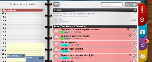 View Information about Pocket Informant HD