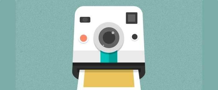 Go To Polaroid Camera Icon