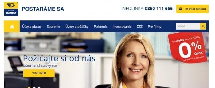 View Information about Poštová banka