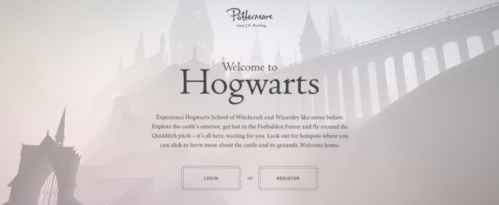 View Information about Pottermore