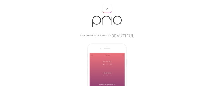 View Information about Prio - iOS App