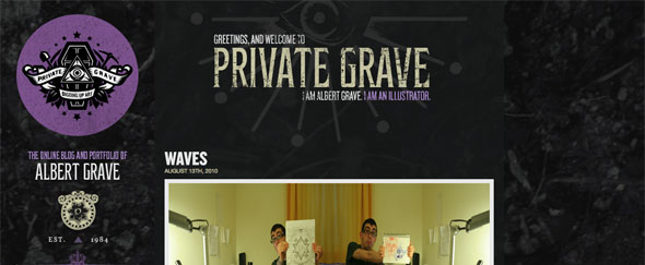 View Information about Private Grave
