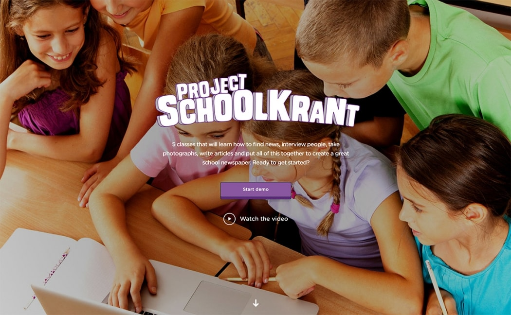 Go To Project Schoolkrant