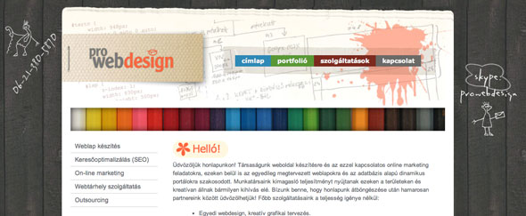 View Information about Pro Web Design