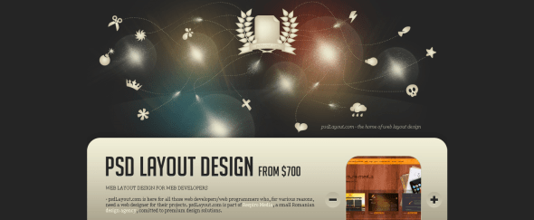 View Information about PSD Layout