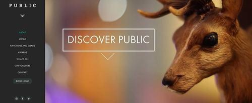 View Information about Public Restaurant