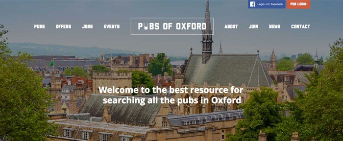 Go To Pubs of Oxford