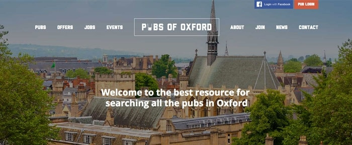 View Information about Pubs of Oxford