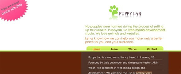View Information about Puppylab