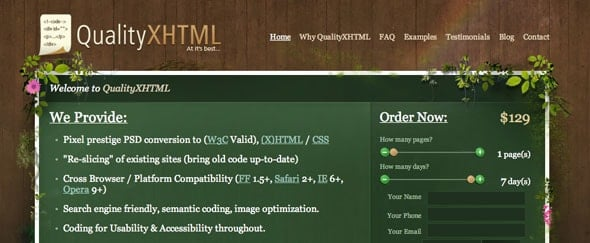 View Information about Qualityxhtml