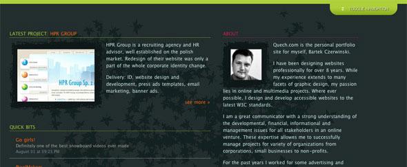 View Information about Quech
