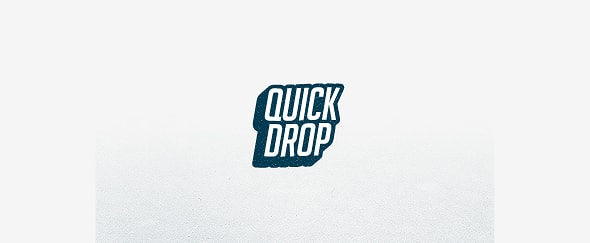 View Information about Quick Drop