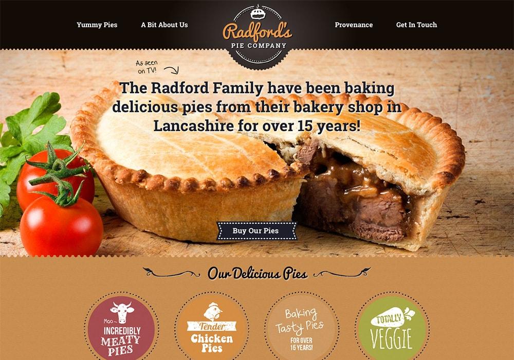 Go To Radford's Pie Company