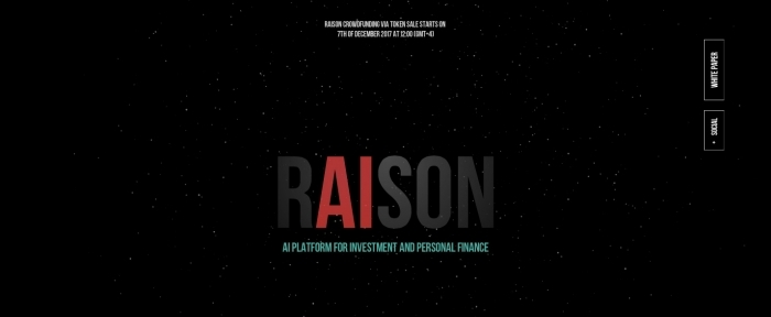 View Information about Raison