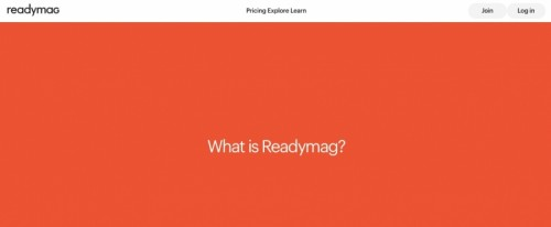 View Information about Readymag