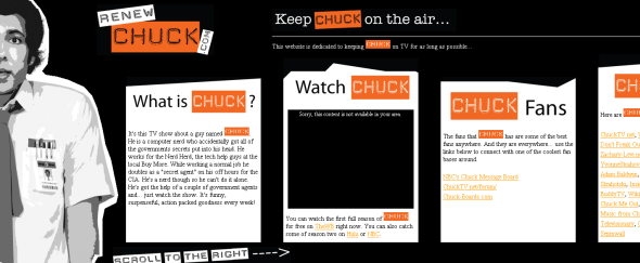 View Information about RenewCHUCK