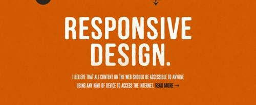 View Information about Responsive Design