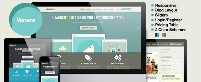 View Information about Responsive Retro Bootstrap Theme
