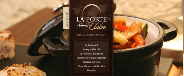 View Information about Restaurant Porte Sainte Claire Annecy