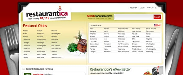View Information about Restaurantica