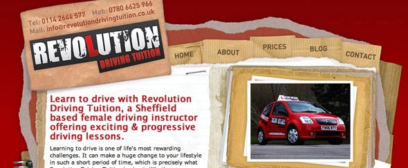 View Information about Revolution Driving