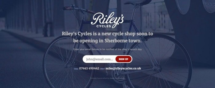 View Information about Riley's Cycles