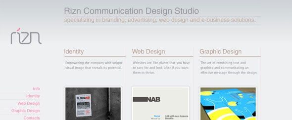 View Information about RIZN Design Studio