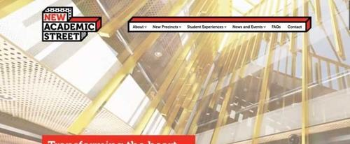 View Information about RMIT New Academic Street