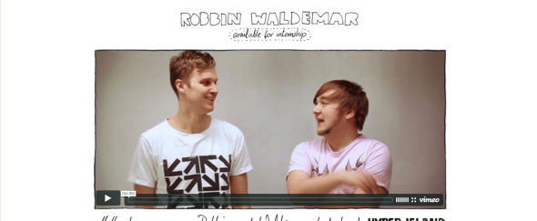 View Information about Robbin and Waldemar