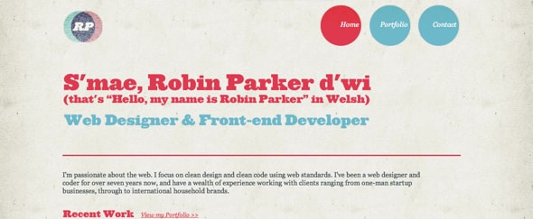 View Information about Robin Parker