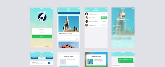 View Information about Rocket App UI Kit