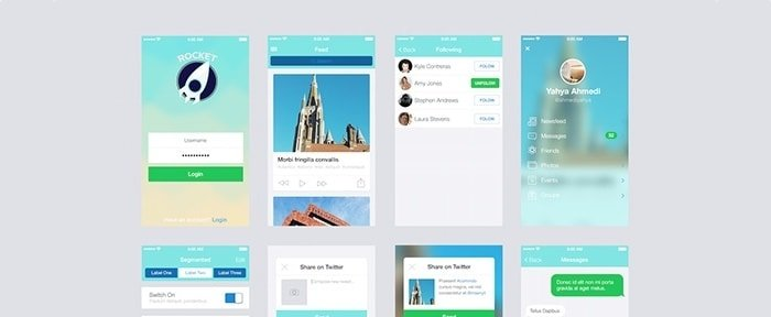 Go To Rocket App UI Kit