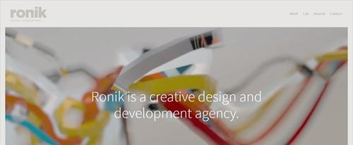 View Information about Ronik Design