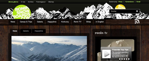 View Information about Roninsnowboards