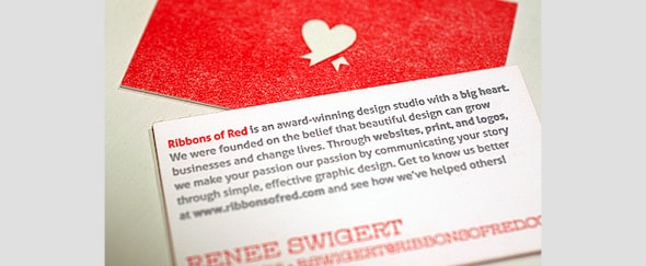 Go To ROR Letterpress Business Cards