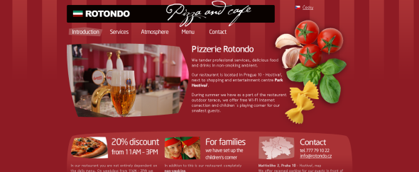 View Information about Pizzeria and Cafe Rotondo