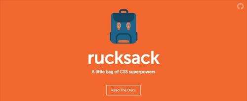 View Information about Rucksack - CSS Superpowers