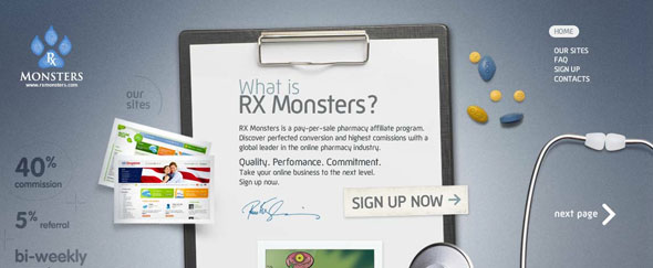 View Information about Rxmonsters