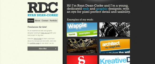 View Information about Ryan Dean-Corke