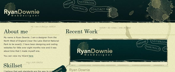 View Information about Ryan Downie