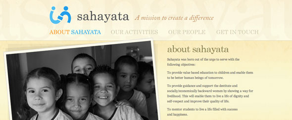 View Information about Sahayata