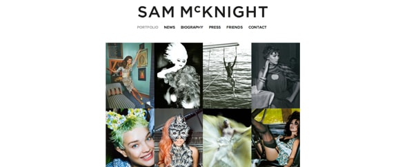 View Information about Sam McKnight