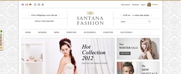 View Information about Santana Fashion